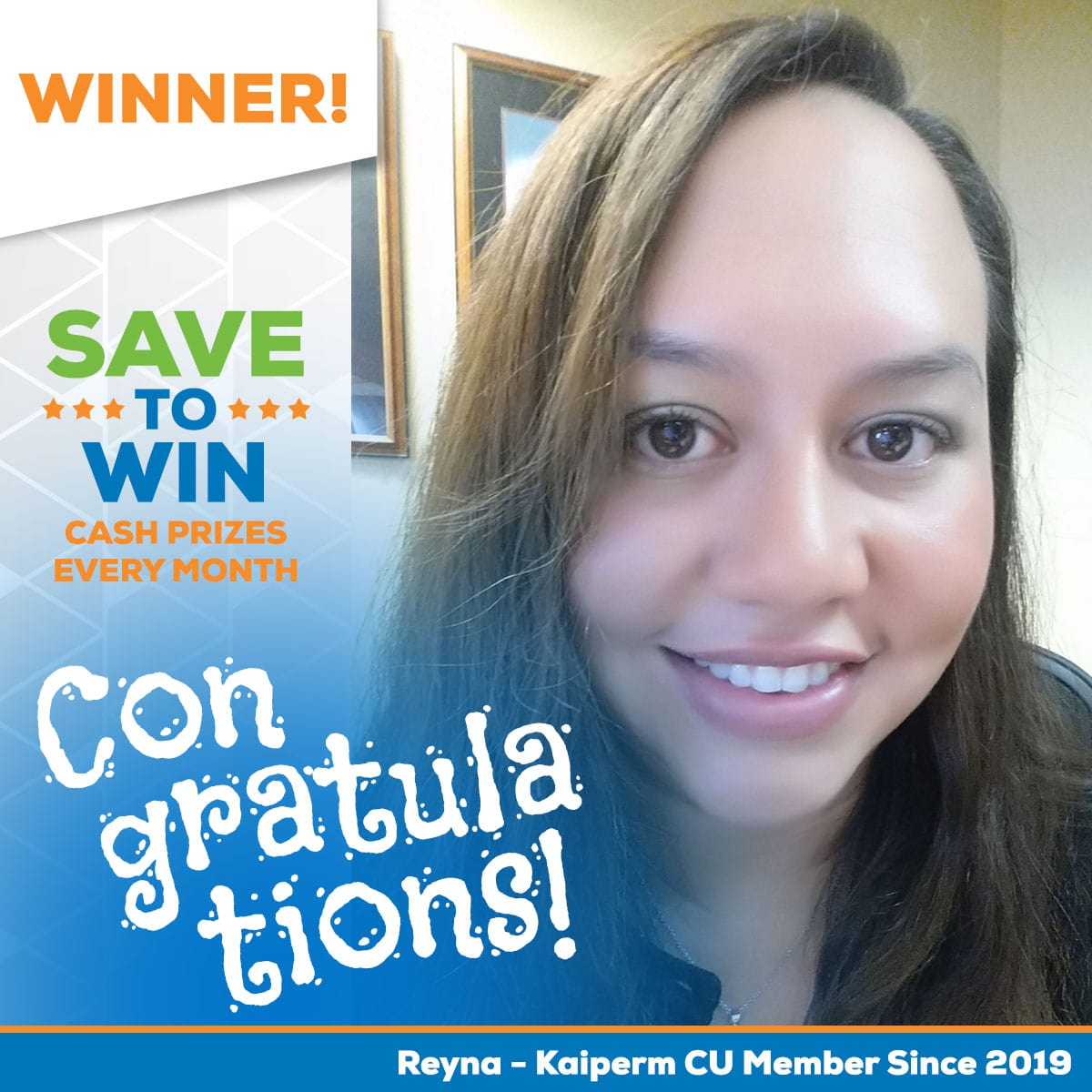 Save to Win Winner Reyna