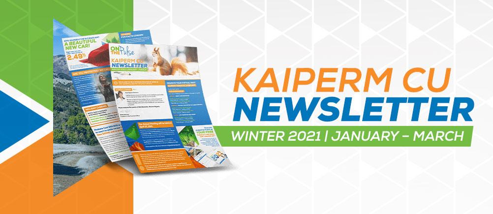 Kaiperm Newsletter