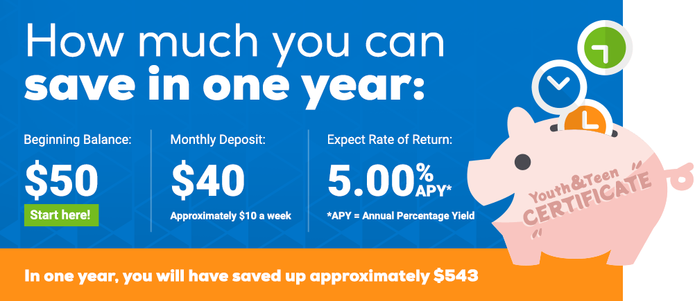 More Than a Savings Account - How much you can save in one year